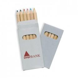 Set 6 creioane colorate Abigail