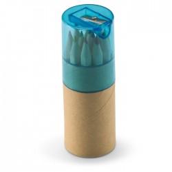 Set 12 creioane colorate în tub Lambut