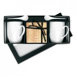 Set cafea în cutie cadou Le Flore