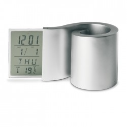 Suport de pixuri cu ceas Spirulina