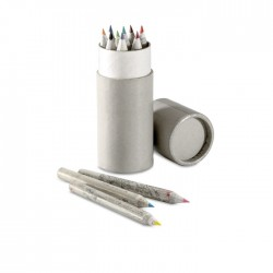 Set 12 creioane colorate Colortub