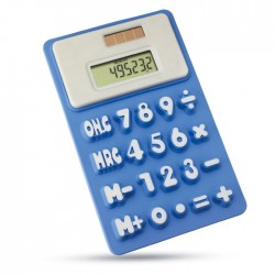 Calculator solar din silicon Flexical