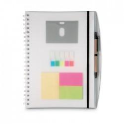 Agendă A4 cu notițe Combinote
