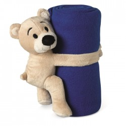 Pătură polar cu ursuleț Manta
