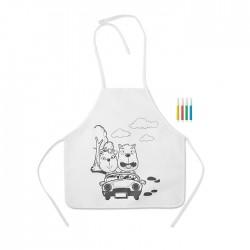Şorţ copii din material neţesut Paint&Cook