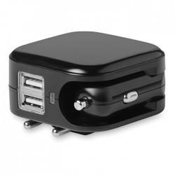Încărcător auto USB și ștecher Combiplug