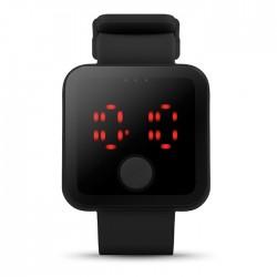 Ceas de mână cu LED roșu Redtime