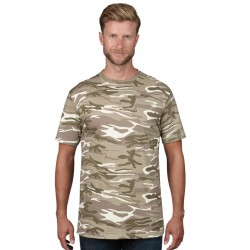 Tricou unisex Anvil Midweight Camouflage