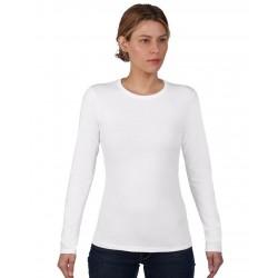Tricou damă mânecă lungă Anvil Fashion