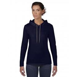 Bluză damă cu glugă Anvil Fashion Basic