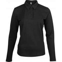 Tricou polo mânecă lungă damă Kariban Jersey