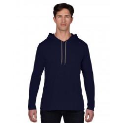 Bluză bărbați cu glugă Anvil Fashion
