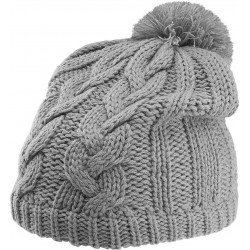 Căciulă cu moț Cable Knit