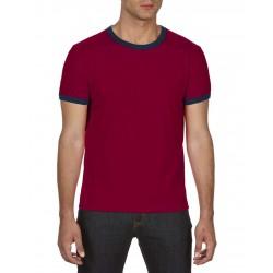 Tricou bărbați Anvil Fashion Ringer