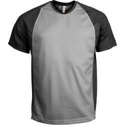 Tricou sport bărbați Proact bicolor