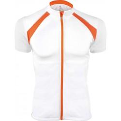 Tricou sport bărbați ciclism cu fermoar Proact