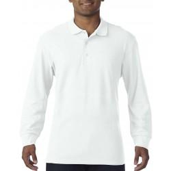 Tricou polo bărbați cu mânecă lungă Gildan Premium Cotton
