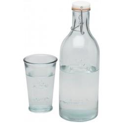 Sticla apa cu pahar