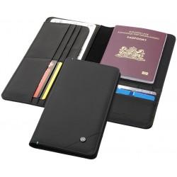 Portofel pașaport Odyssey Travel cu protecție RFID