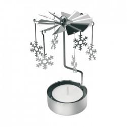 Lumânare Crăciun Tin cu clopoței
