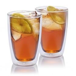 Set pahare ceai cu perete dublu 280 ml