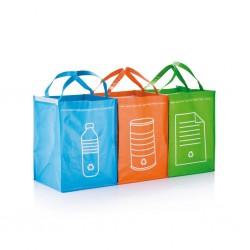 Set 3 sacoșe pentru colectat deșeuri