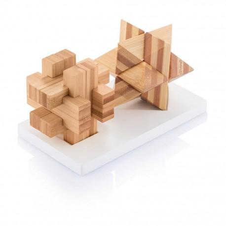 Set jocuri logice din bambus