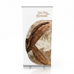 Roll up personalizat 100x200 cm