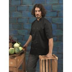 Bluză bucătar Premier Studded cu mânecă scurtă