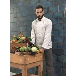 Bluză bucătar Premier Studded cu mânecă lungă