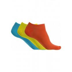 Sosete microfibra Sneaker 3 perechi