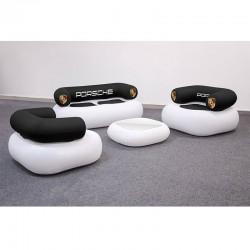 Canapea gonflabila dublă personalizata AXION Chillout