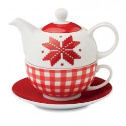 Set ceai Crăciun Nordic
