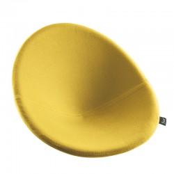 Perna sezut cu suport lombar scaun pliabil Flux lemon lime