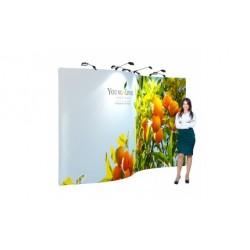 Panou publicitar din textil personalizat- Quick Promo