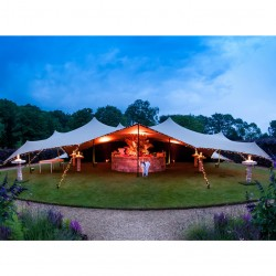 Inchiriere cort nunti petreceri evenimente 10x15 m acoperis stretch