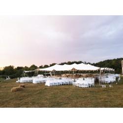 Corturi nunta de inchiriat 20x15 m