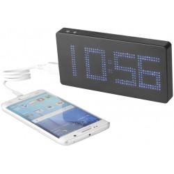 Baterie externa 8000 mAh cu ceas LED si alarma