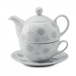 Set ceainic si ceasca Sandria