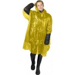 Pelerina protectie ploaie galbena