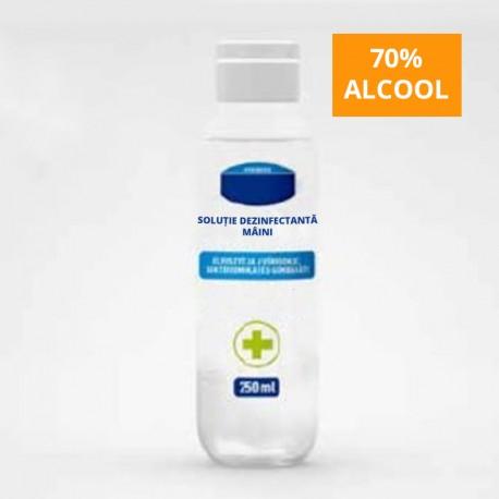 Solutie dezinfectanta maini tip gel, 250ml