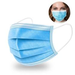 Promotie 100 masti chirurgicale 10 servetele dezinfectante