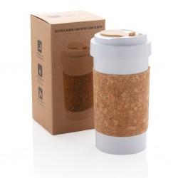 Pahar cafea ECO din material vegetal 400ml