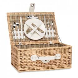 Cos picnic din rachita pentru 2 persoane