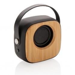 Boxa wireless din bambus 3W