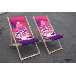 Scaun plaja pliabil personalizat