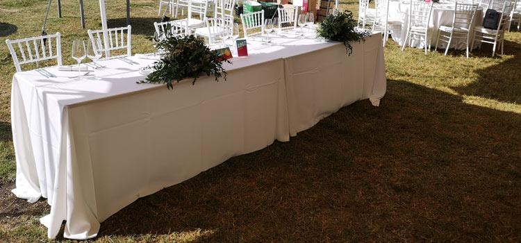 Inchiriere mese dreptunghiulare 183 pentru nunti, cununii si botezuri