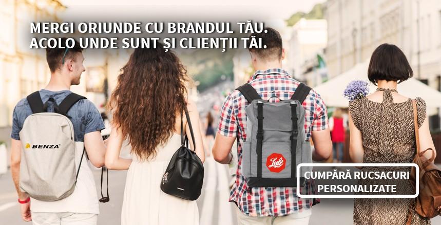 Baner rucsacuri personalizate Quick Promo 2018